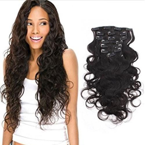 Podaljški za lase v različnih barvah